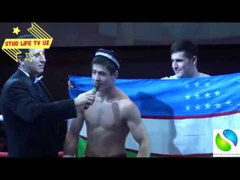Шохжахон Эргашев нокаутировал грузинского боксера 05 03 2017