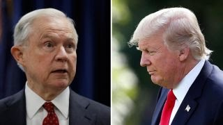 Did Trump's tweets on Sessions cross the line?