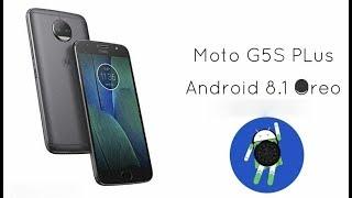 ANDROID 8.1 OFICIAL no MOTO G5s PLUS !!