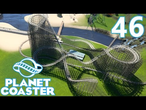 Planet Coaster - Part 46 - Wooden Coaster