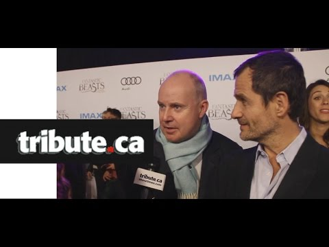 EXCLUSIVE: David Yates, David Heyman - Fantastic Beasts and Where To Find Them, Red Carpet Interview
