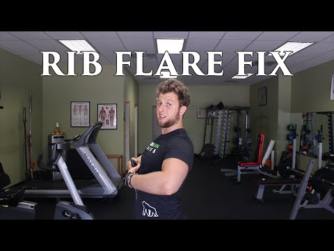 How To Fix Rib Flare | The Overextended Athlete