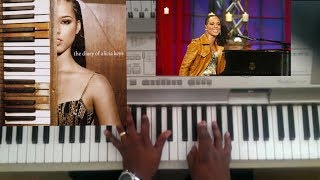 Alicia Keys - Diary (tutorial)