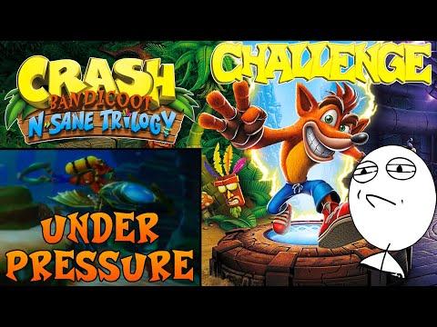 Let's Challenge Crash Bandicoot N. Sane Trilogy (Under Pressure): Platin-Relikt | 1:03:21