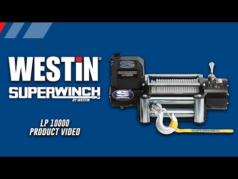 Superwinch LP10000 Winch Product Features