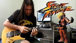 Street Fighter Ken Theme Guitar