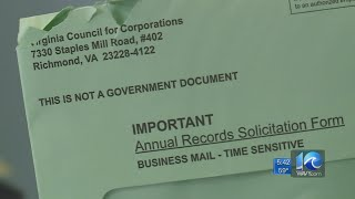 Suffolk business owner warning others about letter scam