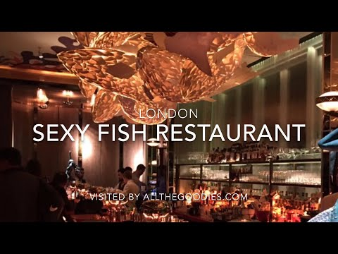 Sexy Fish Restaurant, London | Allthegoodies.com