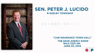 Sen. Lucido discusses auto insurance reform with Dave Akerly