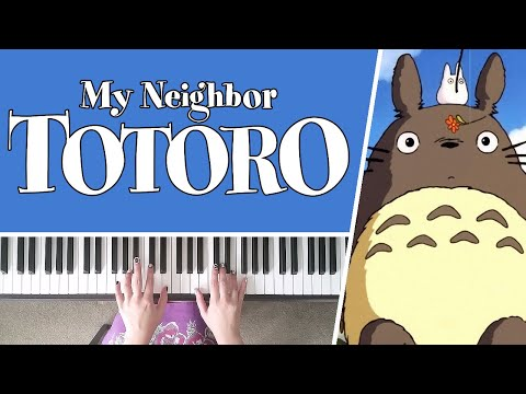 My Neighbour Totoro Theme by Joe Hisaishi - Piano Cover + SHEET MUSIC