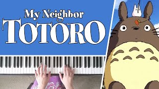 My Neighbour Totoro Theme by Joe Hisaishi - Piano Cover + SHEET MUSIC