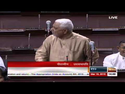 Comments of Sh. Dilipbhai Pandya in Discussion on the Budget (General) 2015-16