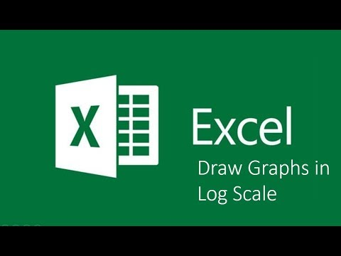How to draw Graph in Log Scale in Microsoft Excel