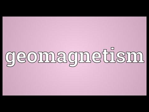 Header of geomagnetism