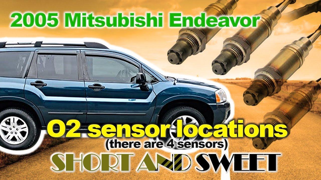 Quick Look 2005 Endeavor Oxygen Sensors Youtube
