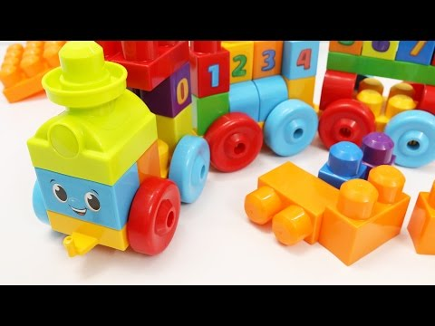 The Number Train Toy | Building Blocks for Kids | Learn Numbers for Children Toddlers