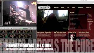Reeves Gabrels The Cure Guitar Focus