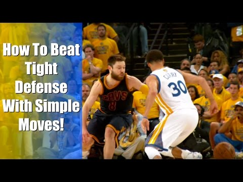 How To: BEAT Tight Defense In Basketball! Simple Dribble Moves (Pressure Defense)
