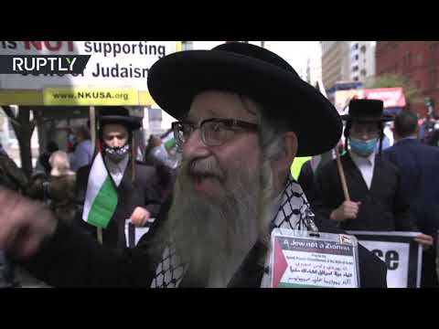 'God doesn't recognize Israel' | Protesters march in DC against trilateral peace deal
