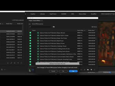Understanding How Project Locking Works in Premiere Pro | Adobe Creative Cloud