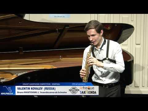 Valentin Kovalev (Russia) - L´Incandescence de la bruine by Bruno Mantovani (Dinant 2019)