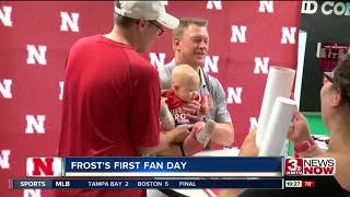 Sights and sounds from Nebraska's Fan Day