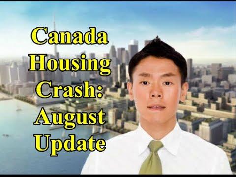 Canada Housing Crash: August Update 2017
