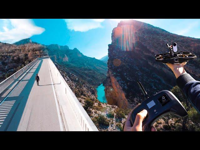 Insta360 GO 2 - VERDON FPV cinematic
