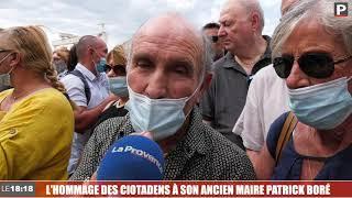 Le 18:18 - La Ciotat a dit au revoir à son maire Patrick Boré
