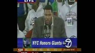 Michael Strahan - We STOMP You OUT!