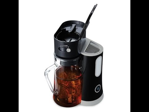 Review:  Mr. Coffee Tea Cafe Iced Tea Maker, Black, BVMC-TM33