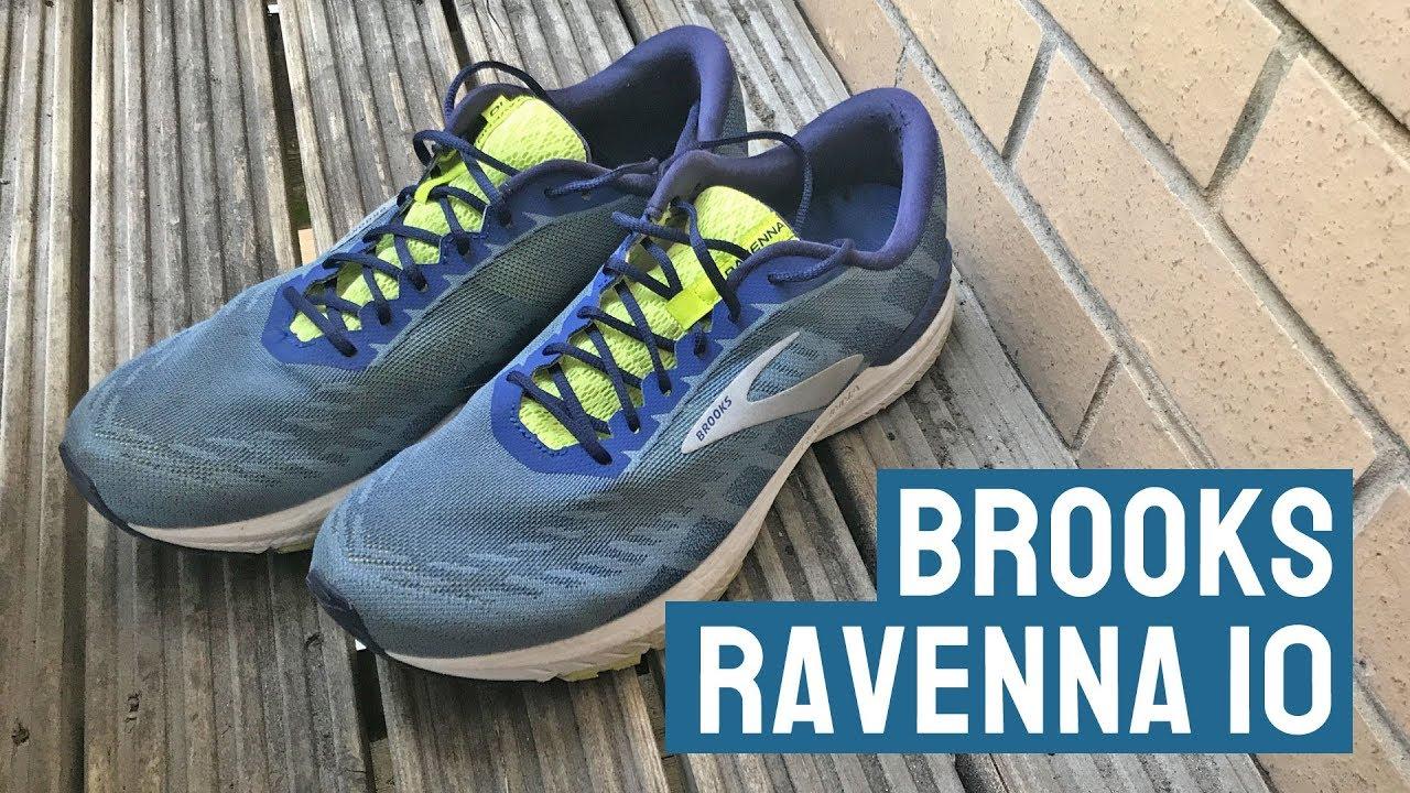 Brooks Ravenna 10 running shoe review