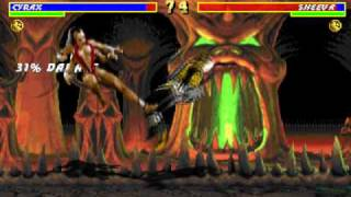 Mortal Kombat 3 - PC CD MS-DOS version showcase