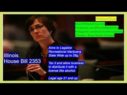 Recreational Marijuana in Illinois - House - Senate - Bills - Federal Law Explained - Breaking News