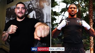 ANDY RUIZ JR v ANTHONY JOSHUA | LIVE PUBLIC WORKOUT 🥊