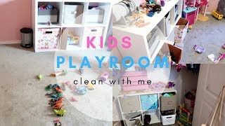 CLEAN WITH ME! | KIDS ROOM | CLEANING MOTIVATION ✨