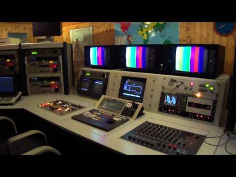 Classic Broadcast TV Control Room