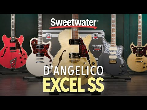 D'Angelico Excel SS Semi-hollowbody Electric Guitar Playthrough