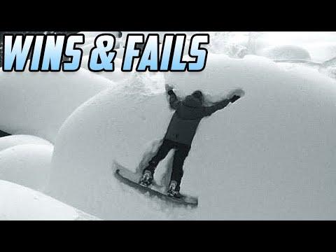 JUST SEND IT - Funny Snowboarding Tricks (Wins & Fails)