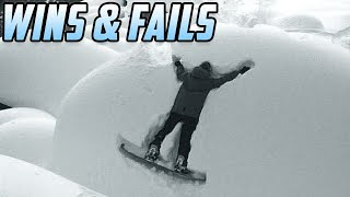 JUST SEND IT - Funny Snowboarding Tricks (Wins & Fails)