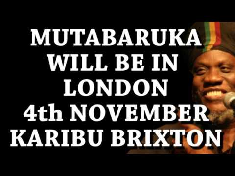 Mutabaruka Cutting Edge 29/09/2016 Police lock up Muta for Ganja Story. MUST HEAR LOL