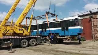 Трамваи прибыли в УКа