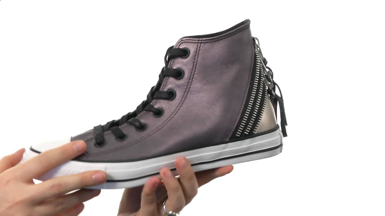 62dec2d70af6 Converse Chuck Taylor® All Star® Tri Zip Color Shift Leather Hi SKU 8390397