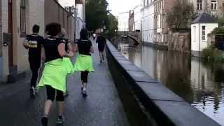 Brugge Urban Trail - video van het parcours