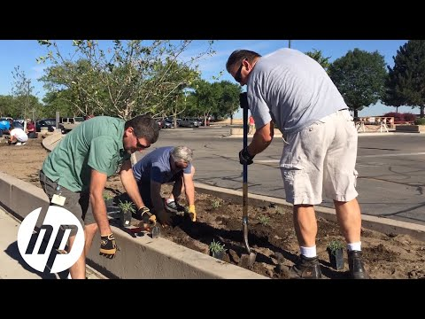 HP Boise Reinvents Landscape for Sustainability   HP