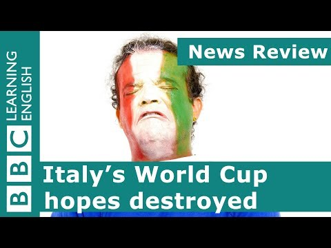 News Review: Italy's World Cup hopes destroyed