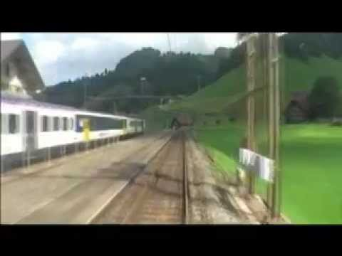 Lucerne - Bern en train