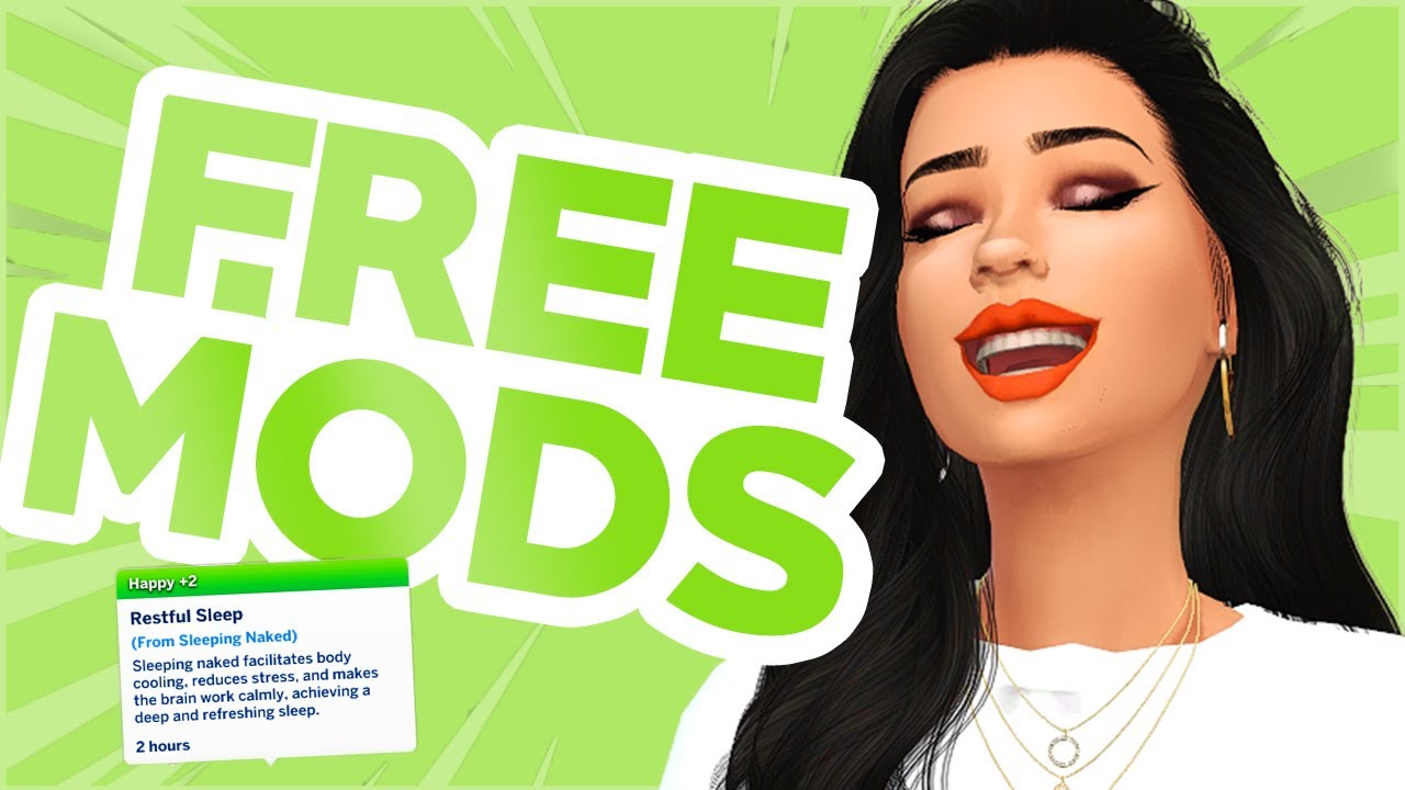 NEW Free Mods for Realistic Gameplay (The Sims 4 mods 2020) YouTube