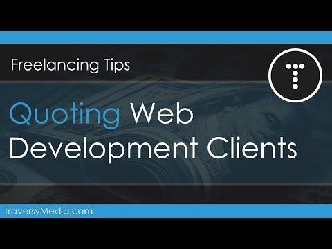 Quoting Web Development Clients