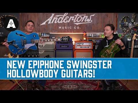 A Swingster Says What?!? - NEW Epiphone Emperor Swingster Hollowbody Guitars!